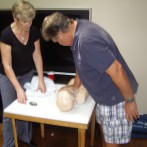 How does an in-home infant/child CPR class work?